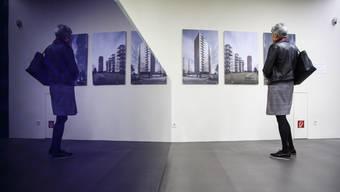 Hier sieht man eine Fotoausstellung an den Wohntagen im Jahr 2018. (Archivbild)