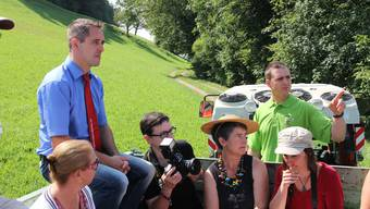 Genuss 12-Startevent auf der Wildfarm Pfrunder in Gansingen