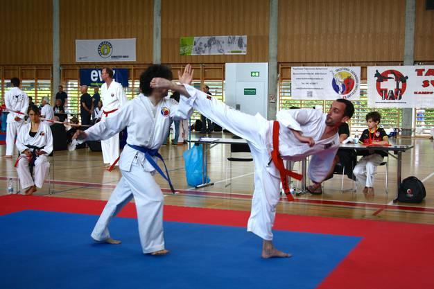 Dynamisch, spannend, kraftvoll- das ist Taekwon-Do!