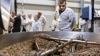 Oetterli Kaffee. Rundgang durch die neue Rösterei 2018