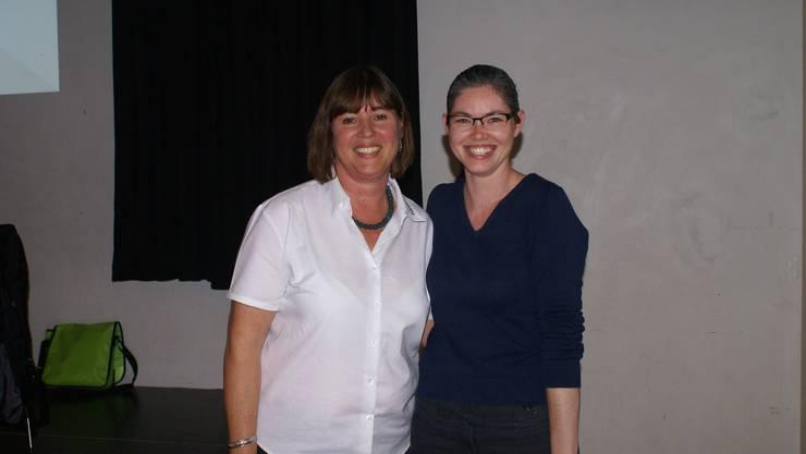 Vera Barritt dankte Daniela Bilinski für die ausgezeichnete Organisation.
