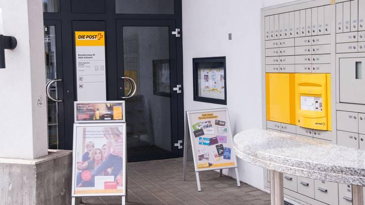 Der Poststelle in Hölstein droht die Schliessung.