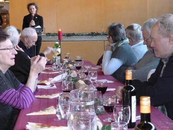 Pfarrerin Jasmin von Wartburg erzählt eine Geschichte