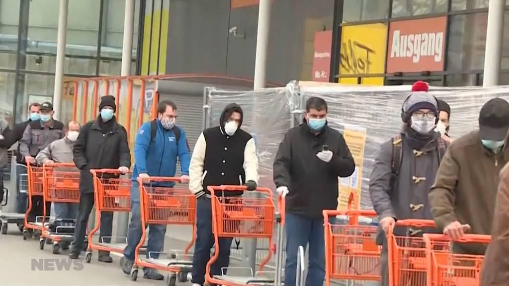 Nach dem Lockdown: Wo sind die Schutzmasken?