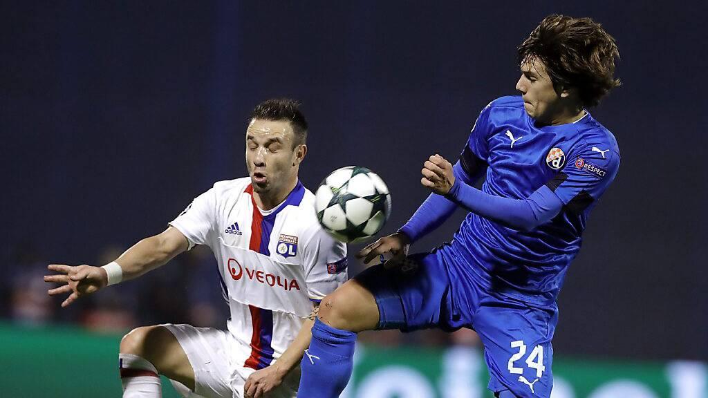 Ante Coric (rechts) trägt neu das Dress des FC Zürich.