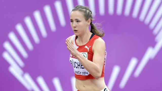 Selina Büchel kämpft um die Medaillen über 800 m