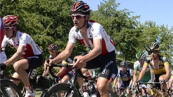 Auch dieses Jahr lässt sich Silvan Dillier die Teilnahme an seinem Heimrennen in Gippingen nicht nehmen. Foto: Wagner/Archiv