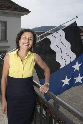 Vincenza Trivigno ist seit 2016 Staatsschreiberin des Kantons Aargau – als erste Frau in diesem Amt.