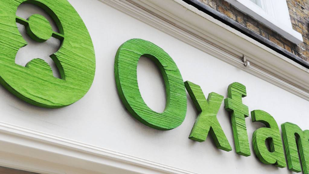 ARCHIV - Eine Filiale der Hilfsorganisation Oxfam. Foto: Nick Ansell/PA Wire/dpa