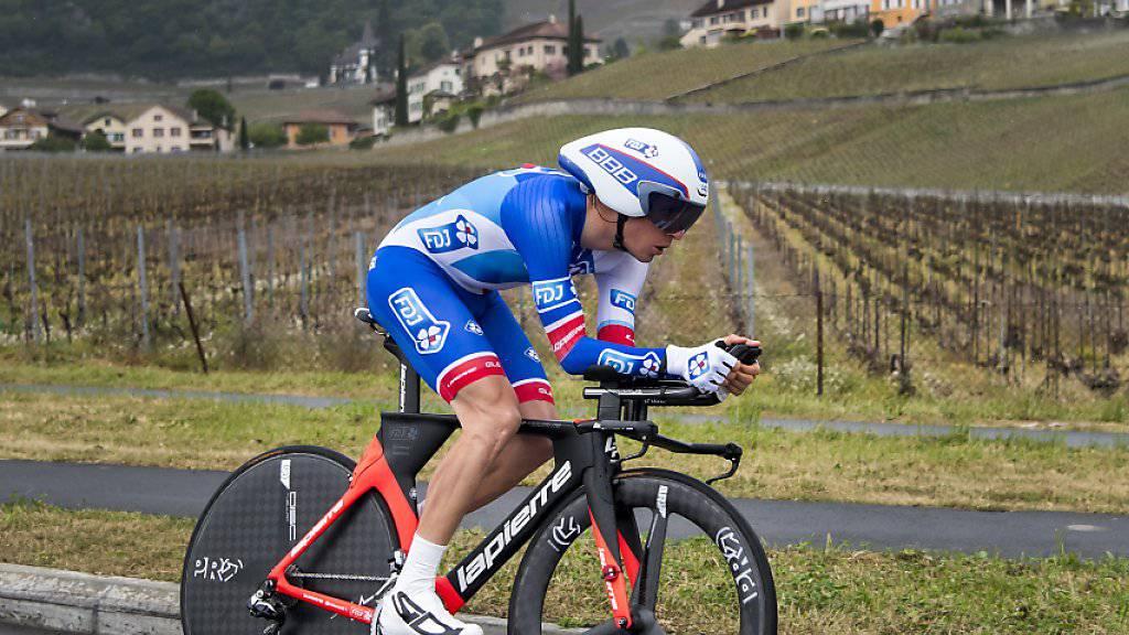 Sébastien Reichenbach fährt auch im kommenden Jahr in Blau-Weiss
