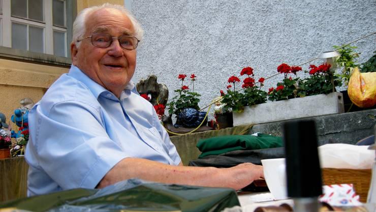 Toni Brechbühl anlässlich seines 90. Geburtstags