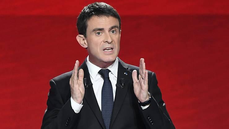 Am meisten Unterstützung von den elsässischen Links-Politikern erhält Manuel Valls.