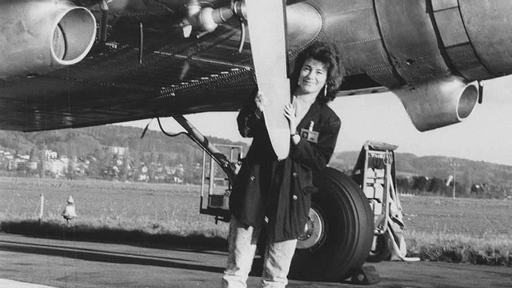 Sonja Zöchling Stucki, Sprecherin des Flughafens Zürich.