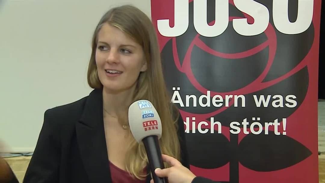 Die neue Juso-Präsidentin heisst Ronja Jansen