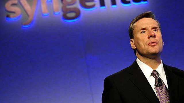 Mike Mack ist CEO von Syngenta, dem weltgrössten Agrochemie-Konzern (Archiv)