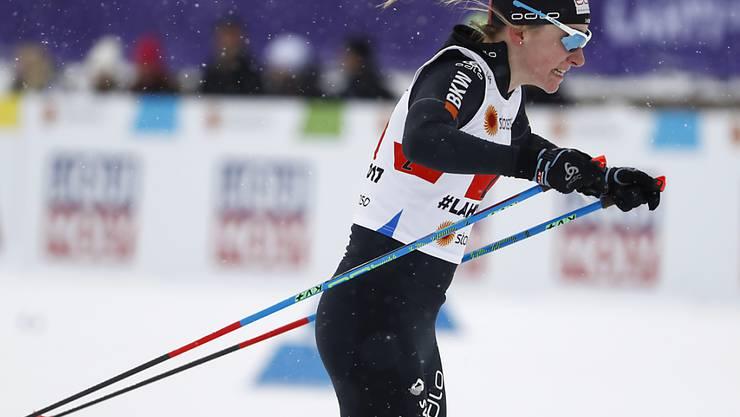 Nadine Fähndrich belohnt sich mit Silber für ihren totalen Einsatz