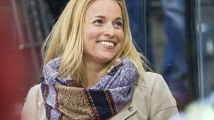 Kann wieder lachen: Skistar Lara Gut