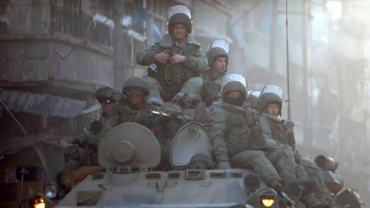 Russische Soldaten in Syrien.