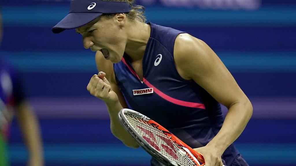 Geschafft: Viktorija Golubic setzt sich gegen eine stärker eingestufte Gegnerin durch. (Archivaufnahme)
