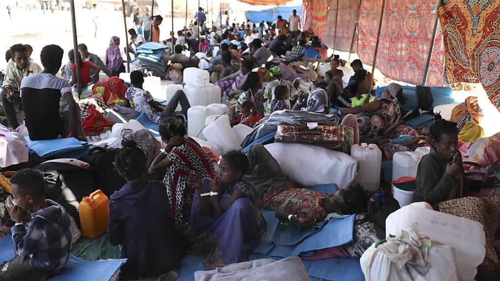 UN-Alarm: Flüchtlingsstrom aus Äthiopien Richtung Sudan