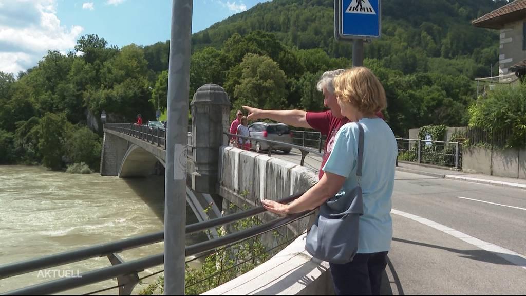 Gefährliche Abkühlung: Die Polizei rät vom Baden in den Flüssen dringend ab