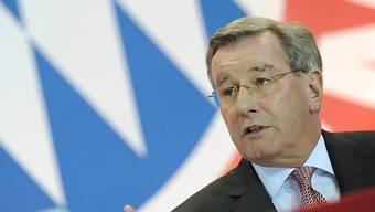Bayern-Präsident Karl Hopfner verkündete die Rekordzahlen