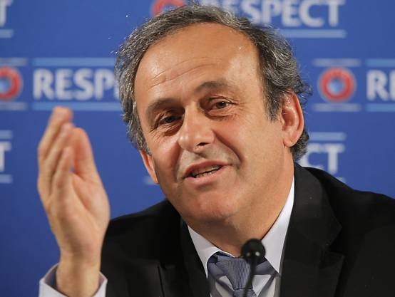 Michel Platini: Wo er wohl den Final sieht?