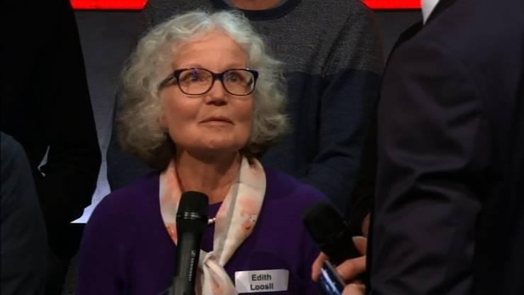 Edith Loosli ist unwohl beim Gedanken an die Zukunft mit 5G.