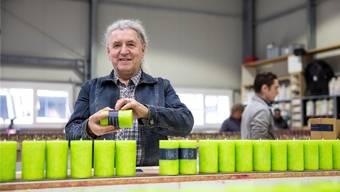 Zu Besuch in Theo Schulthess Kerzen-Fabrik