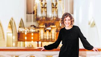 Organistin Nadia Bacchetta war selbst zufällige Besucherin eines musikalischen Adventskalenders und war begeistert.