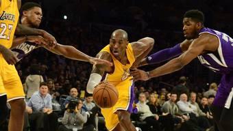 Kobe Bryant, einer der grössten Teamsportler der letzten zwei Jahrzehnte.