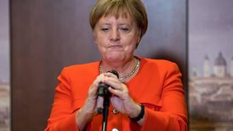Die deutsche Kanzlerin Angela Merkel räumt einen Fehler ein. (Archivbild)