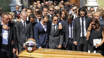 Verunglückter Formel-1-Fahrer Jules Bianchi beerdigt