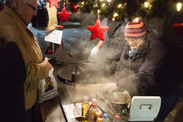Weihnachtsmarkt, Christchindlimärt 2016 in Bremgarten