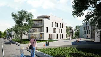 Am Kohlistieg in Riehen werden neue Wohnungen gebaut.
