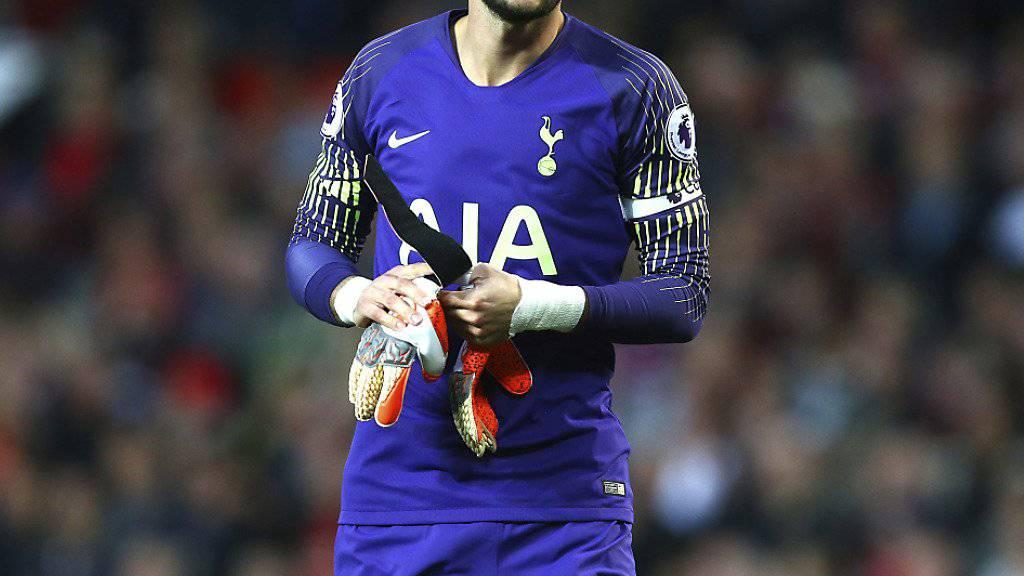 Frankreichs Weltmeister-Goalie Hugo Lloris wird Tottenham einige Zeit nicht zu Verfügung stehen