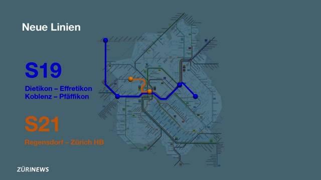 SBB-Fahrplanwechsel: Die wichtigsten Änderungen für die Region Zürich