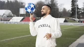 Cubanito träumte als Aarauer Junior von einer Karriere als Profifussballer.