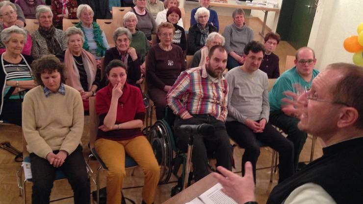 Karl Wallner konnte ein grosses Publikum fesseln.