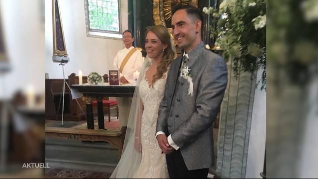 Endlich Mann und Frau: Janine Zeiher und Matthias Heggli sagen JA