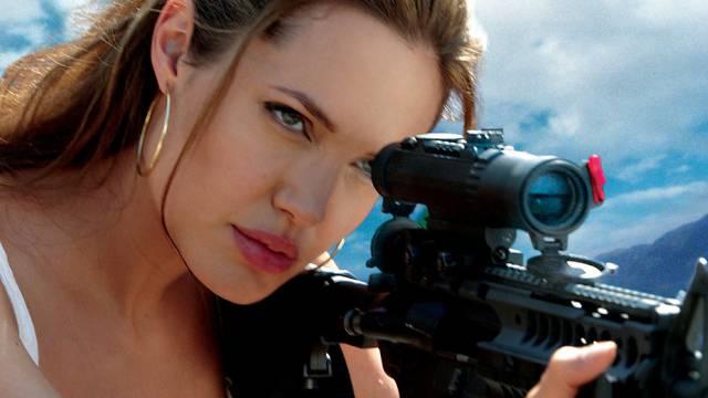 Weibliche Ausnahme: Angelina Jolie spielt Auftragskillerin (Archiv)