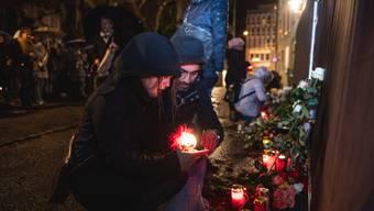 Gedenkfeier für Opfer des Brandes vom 26.November 2018 in Solothurn