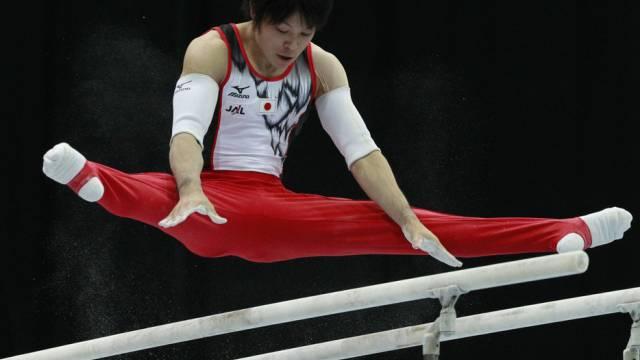 Kohei Uchimura verteidigte seinen Titel erfolgreich