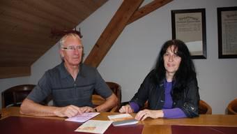 Peter Grusche und Silvana Richner setzen sich für eine Pensenerhöhung bei der Familien- und der Mütterberatung ein