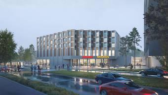 Mit dem Bauprojekt verdoppelt sich die Anzahl Wohnungen auf dem Areal von 100 auf 200.