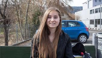 Vivien Bolliger (15), Bezirksschülerin, Menziken.
