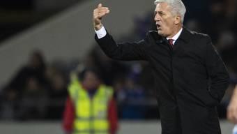 Vladimir Petkovic fordert mit seiner Mannschaft im Kampf um den Gruppensieg Belgien heraus