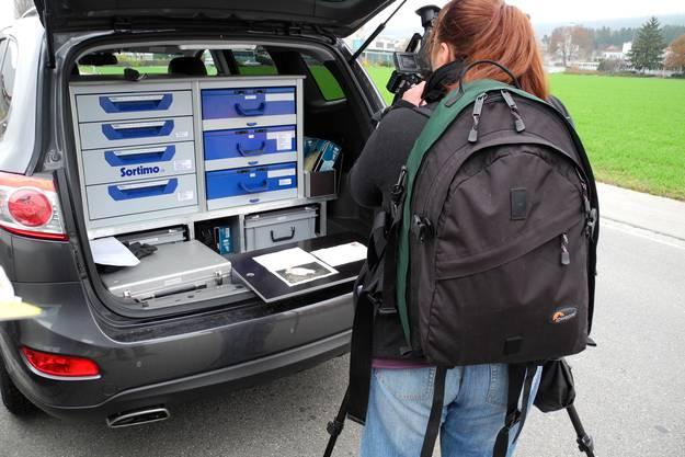 Das Bekennerschreiben das Tele M1 zugespielt bekam, wird von der Polizei konfisziert.