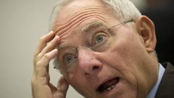 Wolfgang Schäuble gerät nach einem Milliardenfehler unter Druck (Archiv)