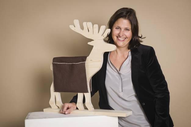 Andrea Eichenbergerin, Inhaberin von «adventsfreude.ch»